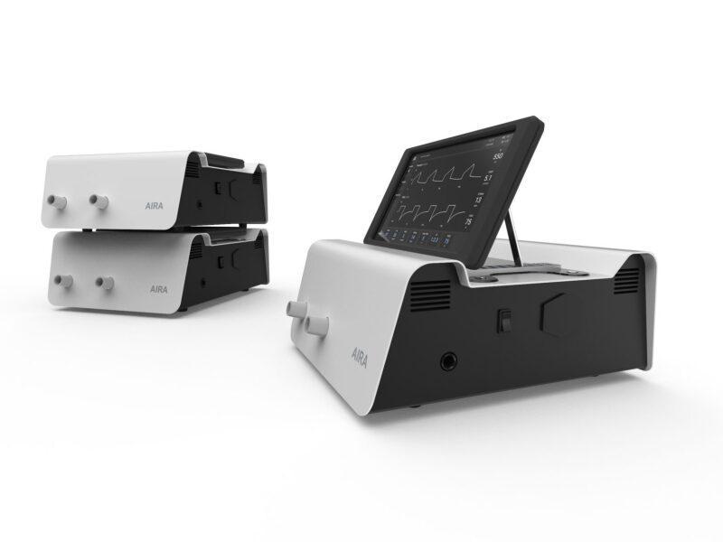 The Ventilator Project's AIRA ventilator.